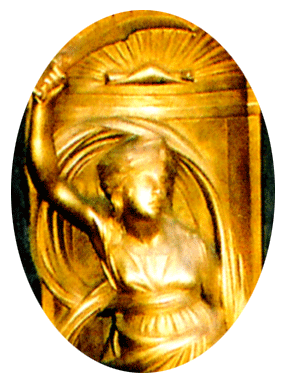 Vetala as Moon Goddess Fecundity, image of a Judith figure shot in Florence, Italy, by Jim McPherson 2008