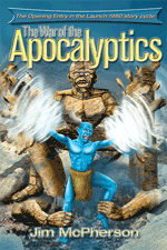 "Cover for digital version of ""The War of the Apocalyptics"", artwork by Ian Bateson, 2009"