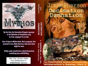 Potential cover for Decimation Damnation 2004 web-serial