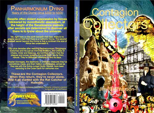 Cover for Contagion Collectors, prepared by Jim McPherson, 2010