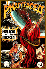 Gold-trimmed version of pH-3 cover, artwork by Richard Sandoval, 1978