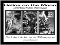 Promo for the Helios on the Moon entry in the Launch 1980 story cycle