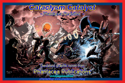 Postcard of front cover for Cataclysm Catalyst