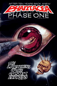 Phase One cover by Ian Bateson, 1986