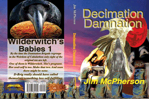 Probable print cover for Decimation Damnation