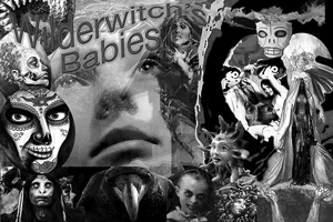Wilderwitch's Babies promo using digital front cover, prepared by Jim McPherson, 2016